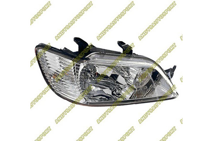 02-03 Mitsubishi Lancer Dimension Lab Headlights - OEM Style Replacement (Passenger Side)