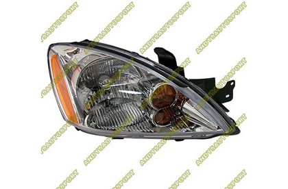 04-06 Mitsubishi Lancer - 5DR Dimension Lab Headlights - OEM Style Replacement (Passenger Side)