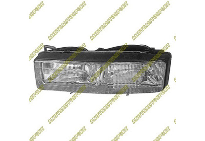 88-91 Oldsmobile Cutlass - 2DR Dimension Lab Headlights - OEM Style Replacement (Driver Side)