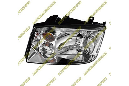 02-05 Volkswagen Jetta Dimension Lab Headlights - OEM Style Replacement (Driver Side)