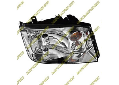 02-05 Volkswagen Jetta Dimension Lab Headlights - OEM Style Replacement (Passenger Side)