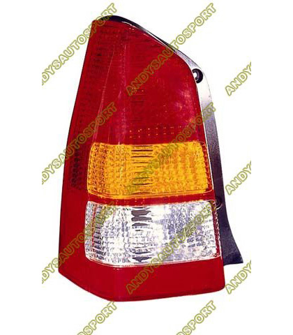 01-04 Mazda Tribute Dimension Lab Tail lights - OEM Style Replacement (Driver Side)