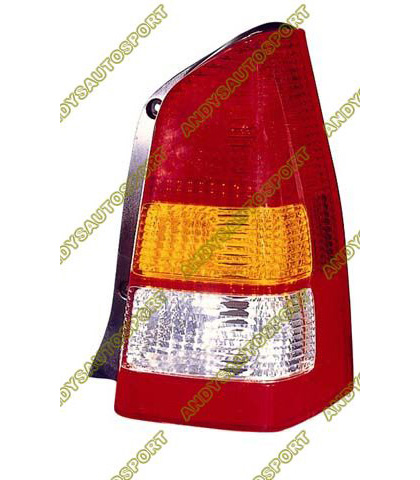 01-04 Mazda Tribute Dimension Lab Tail lights - OEM Style Replacement (Passenger Side)