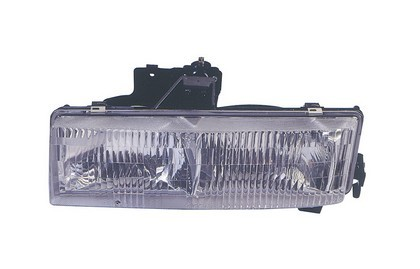96-02 Gmc Savana (Rally/Fullsize Model, Composite Headlamp Type);;96-02 Gmc Savana (Rally / Fullsize Model, 1-Piece Type)  Dlab Headlight - Right Side