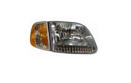 97-02 FORD EXPEDITION (MODELS: XLT, EDDIE BAUER)  Dimension Lab Headlight (With Combo Corner Light, With Bracket, Diamond Design) - Right Assembly (  Performance)