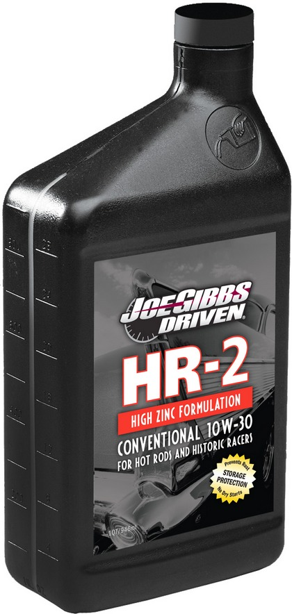 Recommended Use: Hot Rods and Historic Racers Driven Racing Oil? HR-2 High Zinc Conventional 10w-30 Case of 12 Quarts