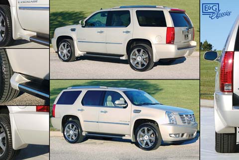 07-08 Escalade E&G Classics Body Kits - 6pc Splash Guard Set