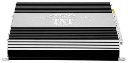 2008-9999 Ford Escape Earthquake TNT Amplifier 2000 W (4 ch. / Bass Boost, Xover, Hi Level In, RCA out)