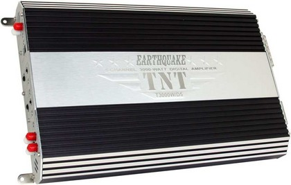 2008-9999 Ford Escape Earthquake TNT 4X100CH and 1X500 Full Digital Amplifier (Remote Turn On, Bass/Treble/Xover)