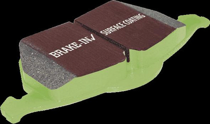 2001-2005 Deville 4.6 HD EBC Greenstuff Sport Upgrade Pads Set - Rear