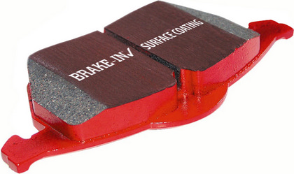 1970 Fairlane 4.1 EBC Redstuff Superstreet Ceramic Pads Set - Front
