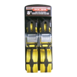 "Universal (All Vehicles) Erickson Manufacturing 2 Pack 2"" X 8"