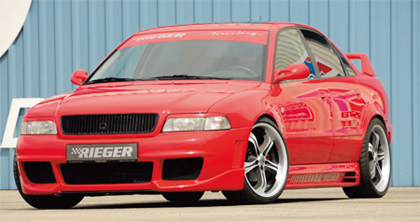 2000-2001 Audi A4 Eurogear Rieger RS4 Plus Body Kit - Side Skirts