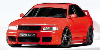 96-02 Audi A4 / S4 Eurogear Rieger RS4 Plus Body Kit - Full Body Kit