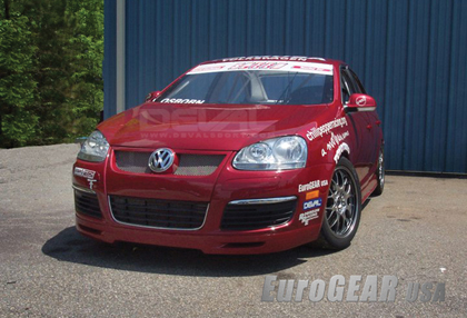 06-08 VW GTI, Rabbit MKV Eurogear DEVAL Body Kit - Front Lip Spoiler