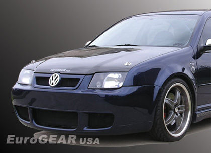 99-05 VW Jetta GLI MKIV Eurogear  R32 R-Series Body Kit - Full Body Kit (Single Muffler Option)