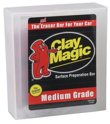 Universal (All Vehicles) FIBREglass Evercoat Red Medium Grade Clay Magic�, 200 grams
