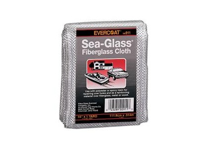 "Universal (All Vehicles) FIBREglass Evercoat Fiberglass Cloth 44"" x 1yd"