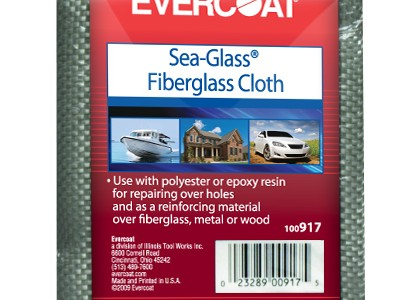 "Universal (All Vehicles) FIBREglass Evercoat Fiberglass Cloth 38"" x 1 yd."