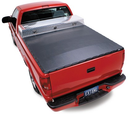 2007 Sierra Short Bed Classic (6 1/2 ft) Extang Full Tilt Soft Hinged Tonneau Cover With Tool Box (With Snaps)