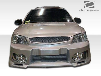 00-02 Hyundai Accent 2DR Extreme Dimensions Evo 5 Body Kit - FULL KIT w/ Fog Lights