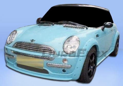 02-06 Mini Cooper Base Extreme Dimensions MS Design Body Kit - Full Kit