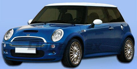 02-06 Mini Cooper Base Extreme Dimensions Type H Body Kit - Full Kit