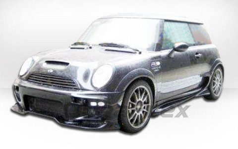 02-06 Mini Cooper (Including S) Extreme Dimensions Vader Body Kit - Full Kit