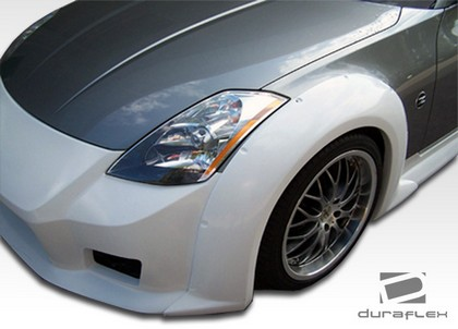 2003-2008 Nissan 350z Extreme Dimensions B2 Wide Body Kit - Fenders (Front)