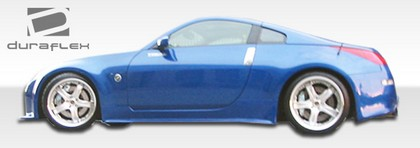 2003-2008 Nissan 350z Extreme Dimensions Drifter 2 Body Kit - Side Skirts