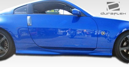 2003-2008 Nissan 350z Extreme Dimensions N-1 Body Kit - Side Skirts