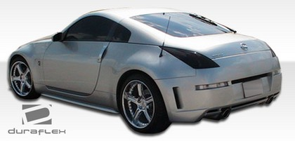 2003-2008 Nissan 350z Extreme Dimensions S Design Body Kit - Rear Bumper