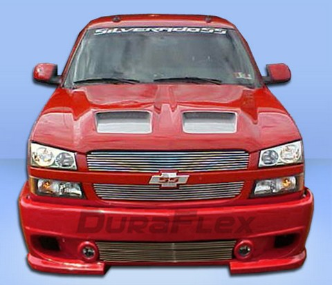 2002-2006 Chevrolet Avalanche (Without Body Cladding)/2003-2006 Silverado Extreme Dimensions Phantom Body Kits - Front Bumper