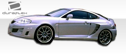 2003-2008 Hyundai Tiburon Extreme Dimensions SC-5 Style Body Kit - Side Skirts