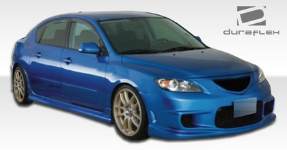 04-09 Mazda 3 4DR Extreme Dimensions I-Spec Body Kits - Full Kit