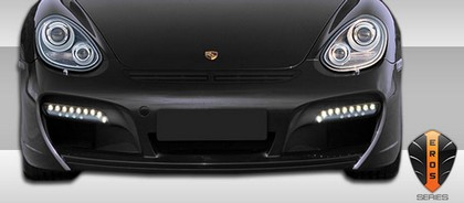 2005-9999 Porsche Cayman Extreme Dimensions Eros Version 1 Front Lip (must be used with Version 1 front bumper)