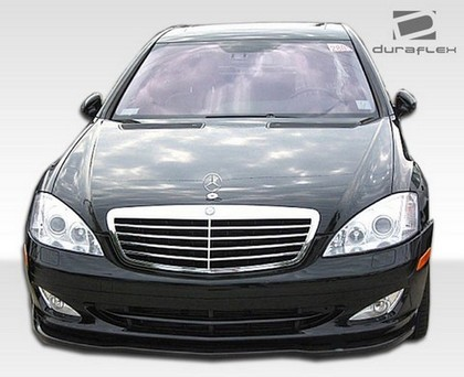 07-09 Mercedes S Class W221 (will fit S550 and S600 non Duraflex AMG models only) Extreme Dimensions L-Sport Front Spliter
