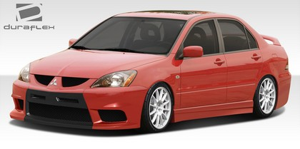 04-06 Mitsubishi Lancer Extreme Dimensions Evo X Look Body Kit