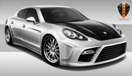10-12 Porsche Panamera Extreme Dimensions Eros Version 4 Wide Body Body Kit