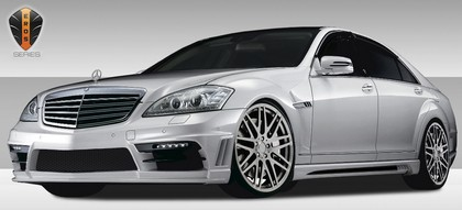 10-12 Mercedes Benz S Class W221 Extreme Dimensions Eros Version 2 Body Kit
