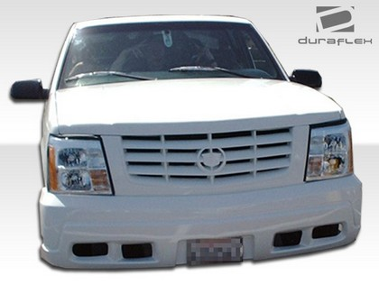 92-99 Chevrolet Suburban Extreme Dimensions Escalade Conversion Body Kit - Front Bumper w/ Grill