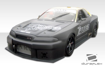 89-94 Skyline R32 Extreme Dimensions R34 GTR500 Body Kit - Complete Conversion