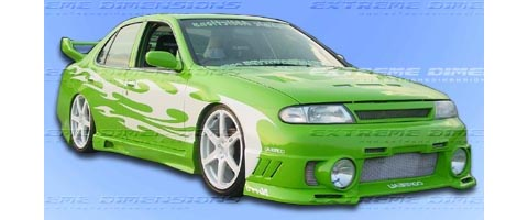 Extreme Dimensions Evo 3 Body Kit   FULL KIT w/