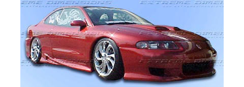Extreme Dimensions TCS Body Kit   FULL KIT [95 96 Dodge