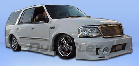 97-02 Ford Expedition Extreme Dimensions Evo 5 Body Kit - FULL KIT w/ Fog Lights