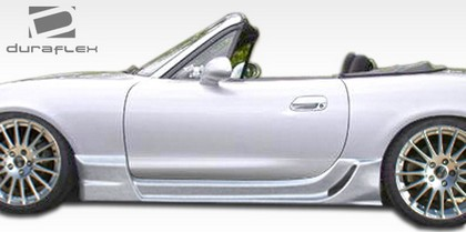 1999-2005 Mazda Miata Extreme Dimensions Wizdom Body Kit - Side Skirts