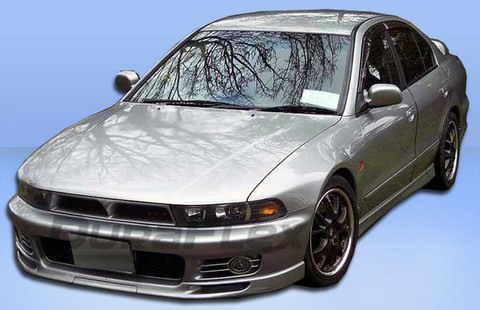 99-03 Mitsubishi Galant Extreme Dimensions VR4 Look Body Kit - FULL KIT