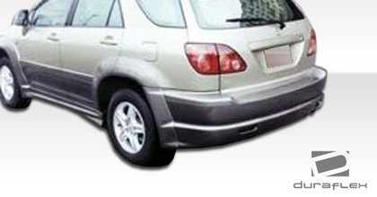 1999-2003 Lexus RX Extreme Dimensions VIP Body Kit - Fender Flares (Rear)