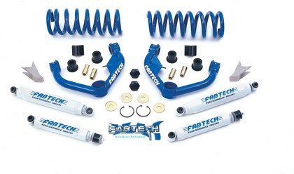 "00-01 Dodge 1500 2WD Fabtech 3"" Performance System w/ Performance Shocks"