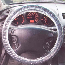 2000-9999 Ford Excursion Film Tech Plastic Steering Wheel Cover - 250 Qty.